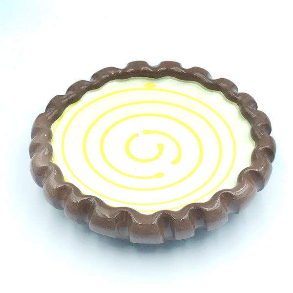 Set of Spiral Pie Plate Design