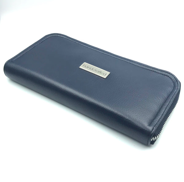 Navy Vegan Wallet