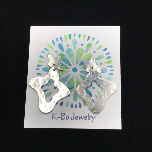 Sterling Silver Fun II Stud Earrings
