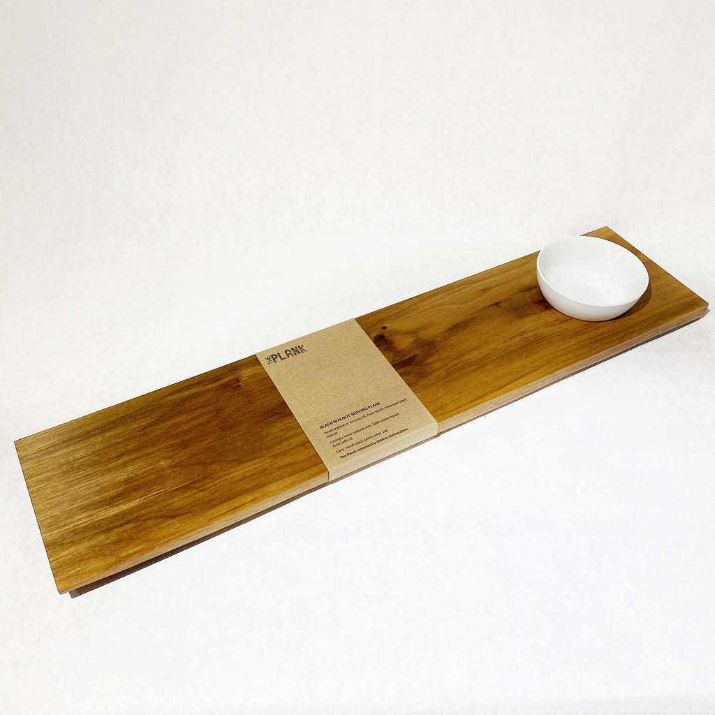 THE PLANK, Black Walnut Serving Plank