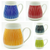 Stripe Porcelain Beer Mugs