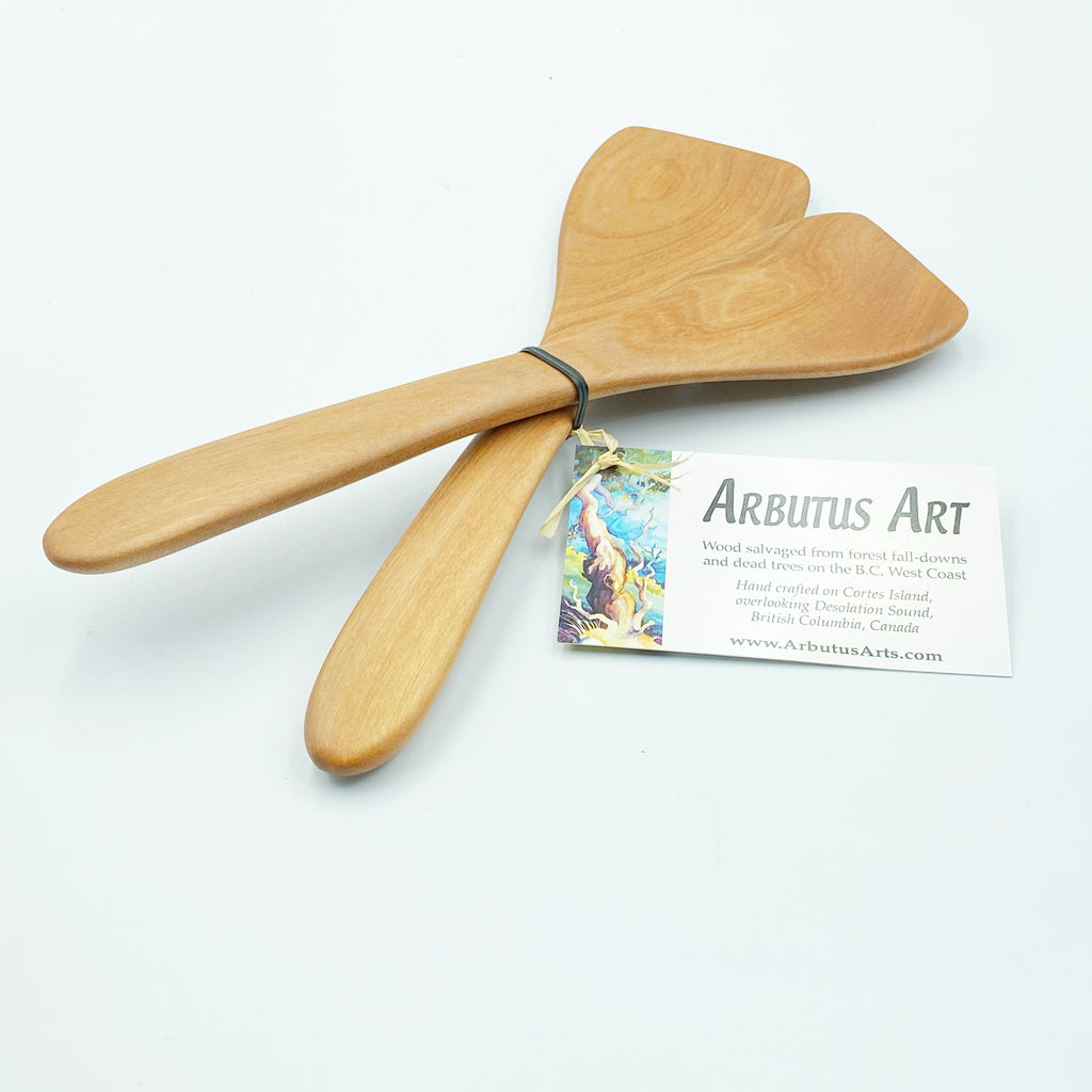Collectors Arbutus Wood Small Server Sets