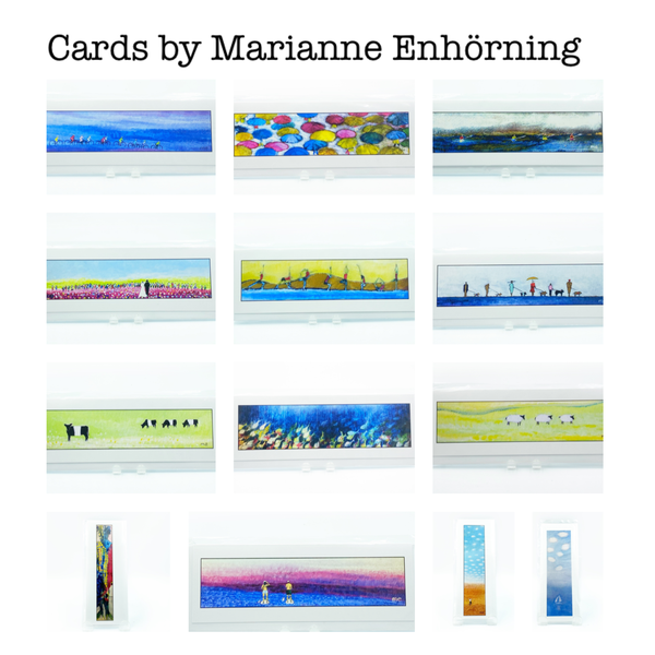 Greeting Cards by Marianne Enhörning Side Street Studio