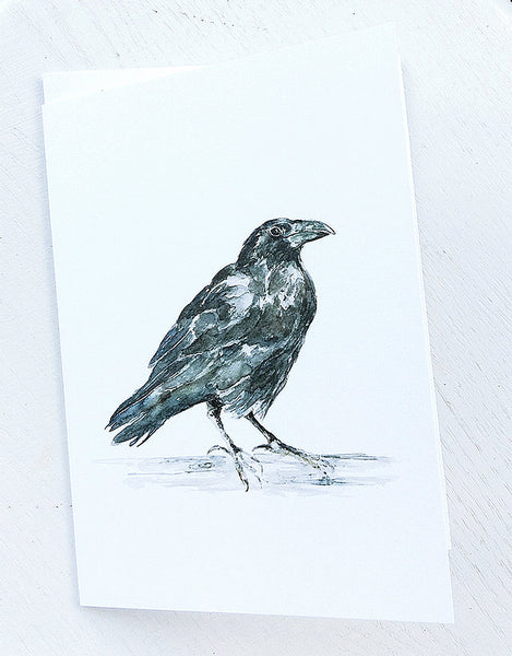 Greeting Cards by Coral Barclay, Raven