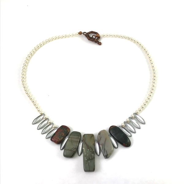 High End Collection Jasper necklace