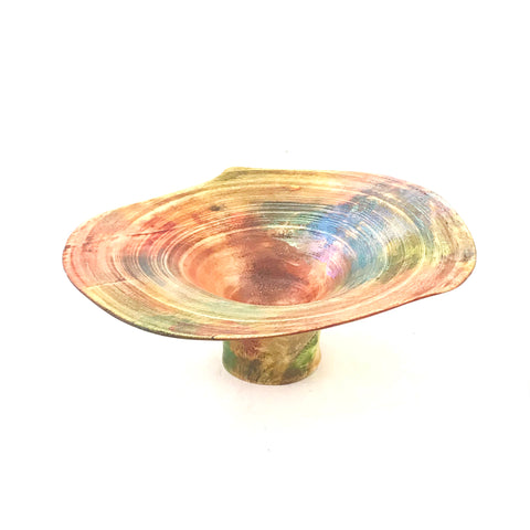 Western Maple Inlaid Platter 10 inches - Side Street Studio