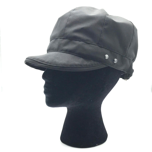 Black Rain Cap - Medium