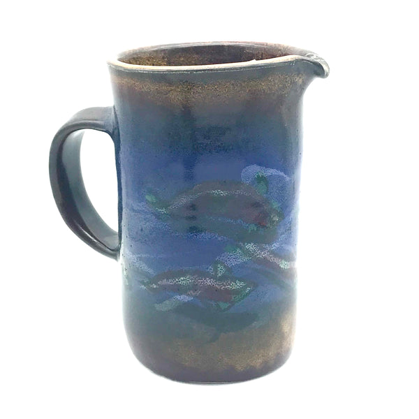 Pitcher for Press Coffee Salmon Design