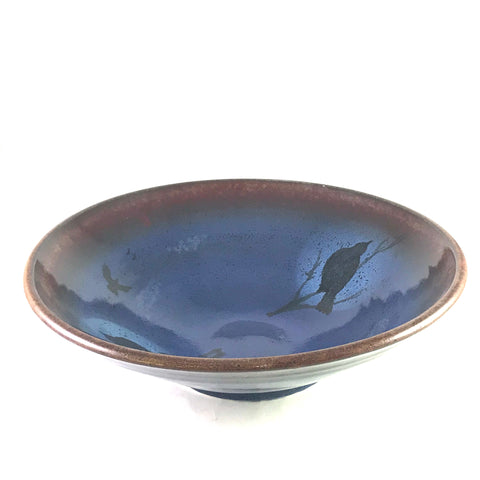 Crow Design Serving Bowl