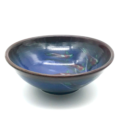 Salmon Design Medium Bowl