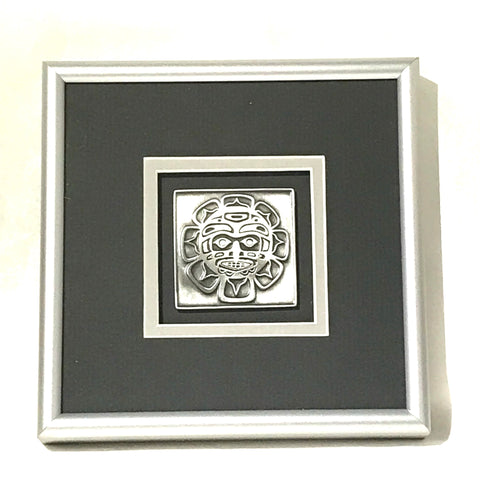 Pewter Haida Sun Picture