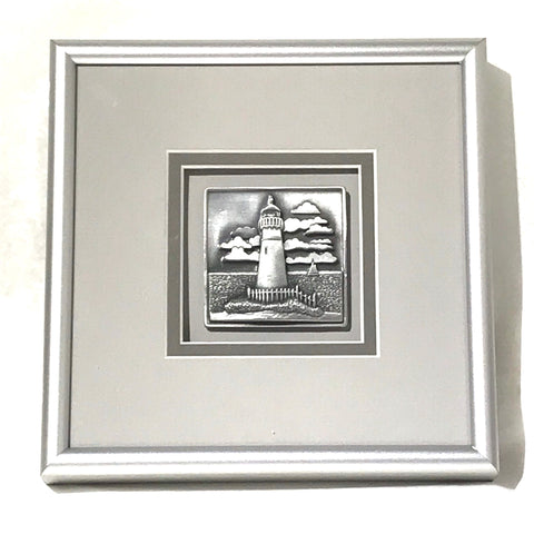 Pewter Lighthouse Picture