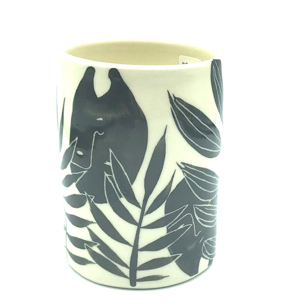 Animal and Leaves Wine Cup