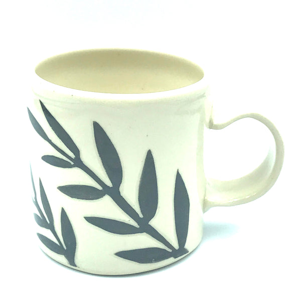 Bird with Leaves Espresso Mug