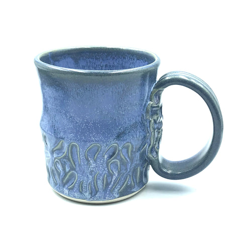 Powell River Blue with Sculpted Mug