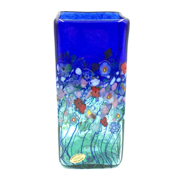 FLOWER BOUQUET SQUARE VASE