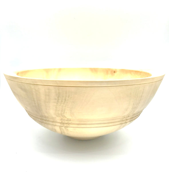 Wooden Horse Chestnut Bowl