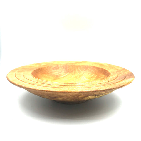 Maple Wooden Bowl, 8 1/2 inches