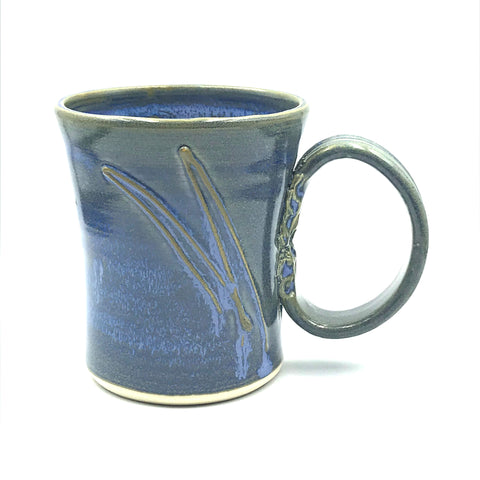 Powell River Blue Glaze Ceramic Mug