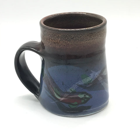 Small Mug with Orca Design