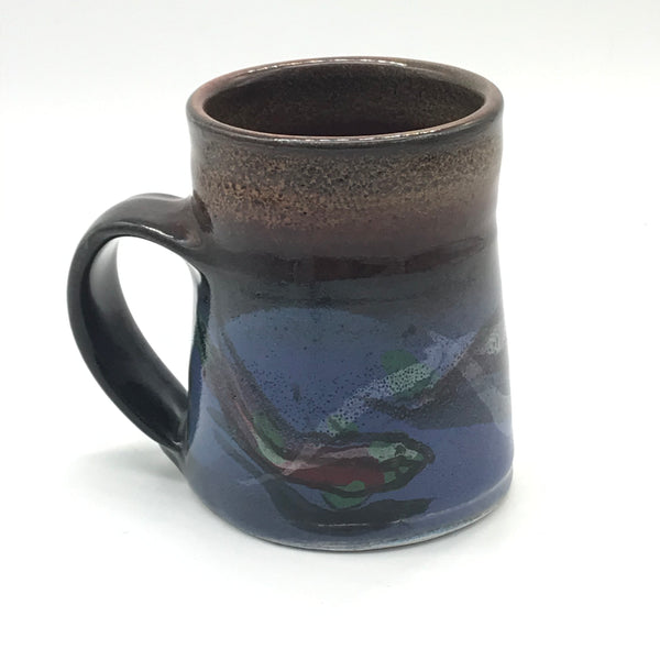 Small Mug with Salmon Design