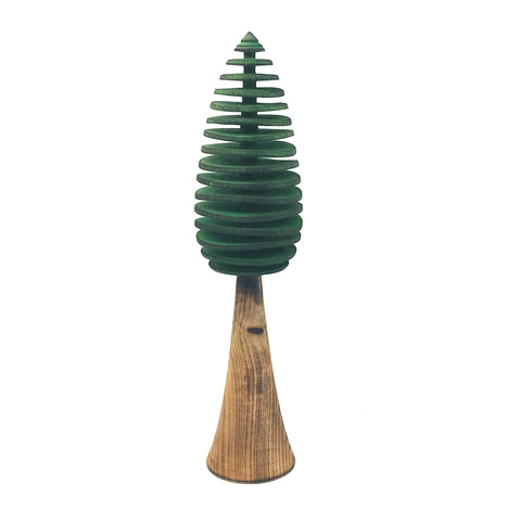 Extra Large Conifers Tree in Green 12 inches