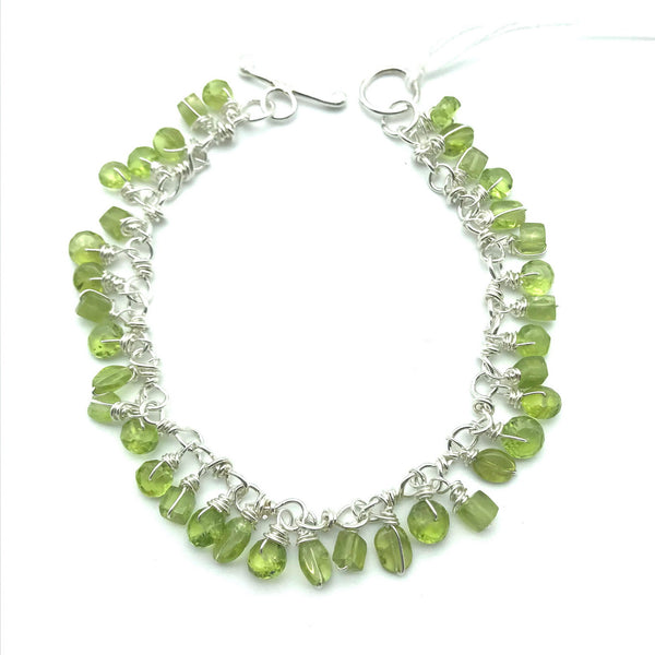 Gypsy Bracelet with Peridot