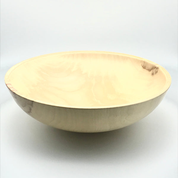 Large Manitoba Maple Wooden Bowl