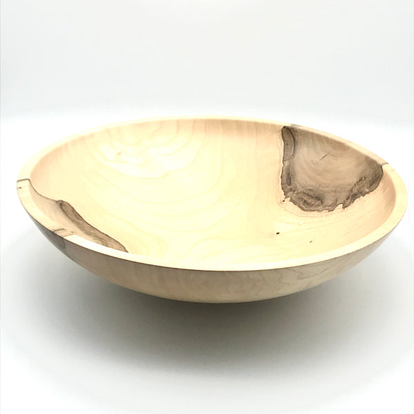Large Maple Wooden Bowl