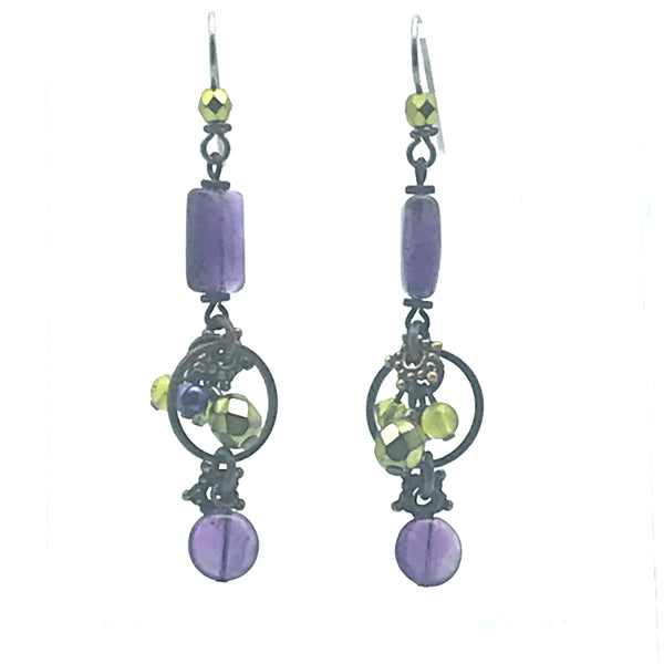 Mystic Earrings, 2 1/2 inches