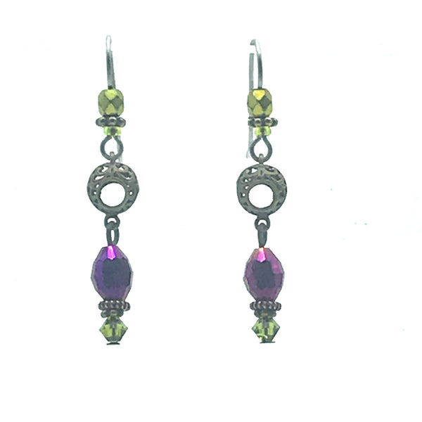 Mystic Earrings, 1 3/4 inches