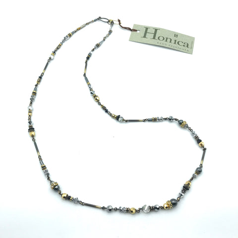 Silver Mist Necklace, 32 inches