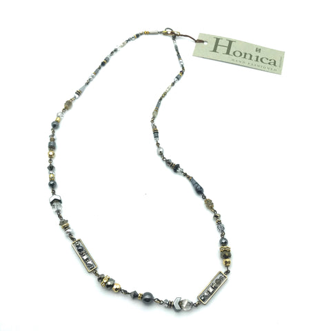 Silver Mist Necklace, 27 inches