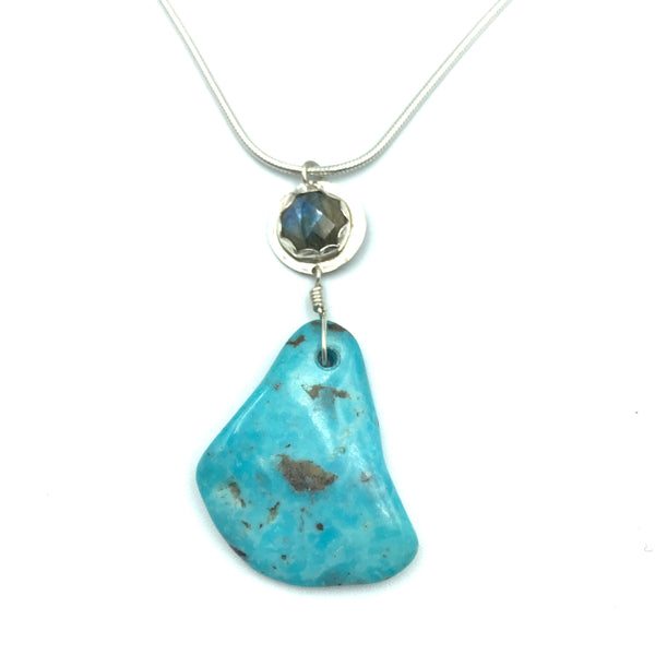 Sterling Silver with Turquoise Necklace
