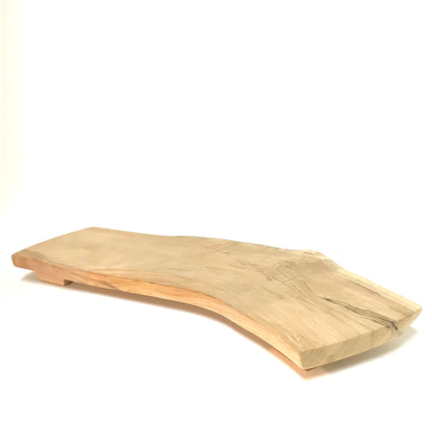 Big Leaf Maple Wood Serving Platter