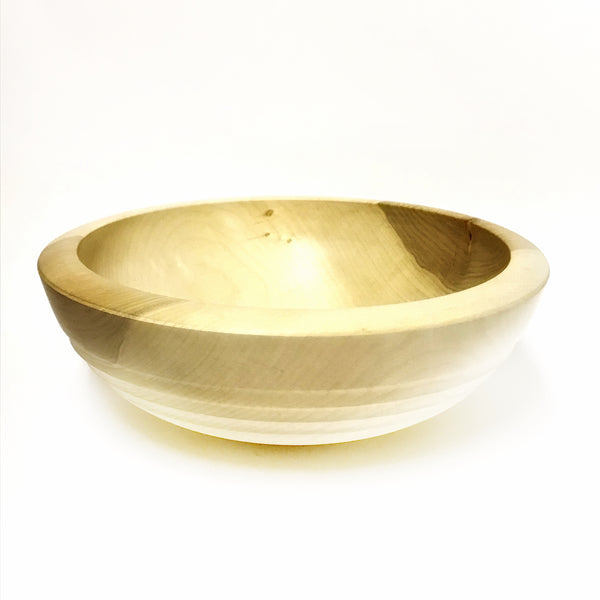 Silver Maple Salad Bowl, 13 1/4 x 5