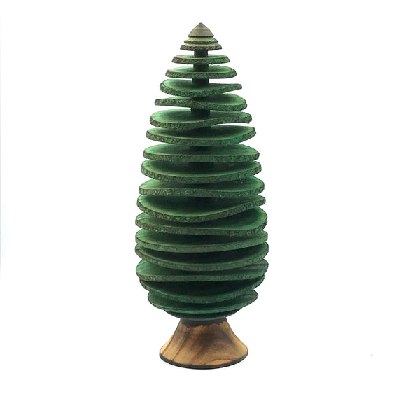 Large Conifers Tree in Green 10 inches