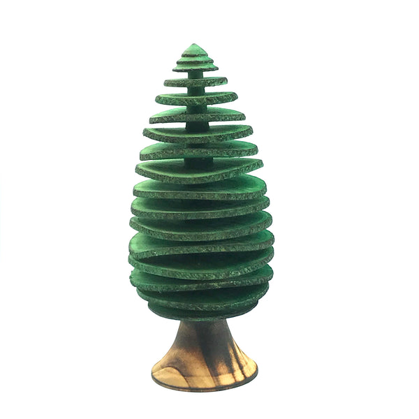 Large Conifers Tree in Green, 10 1/4 inches