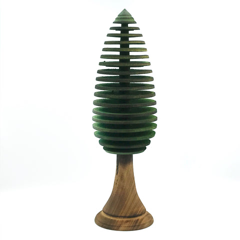 Small Conifers Tree in Green, 6 1/2 inches