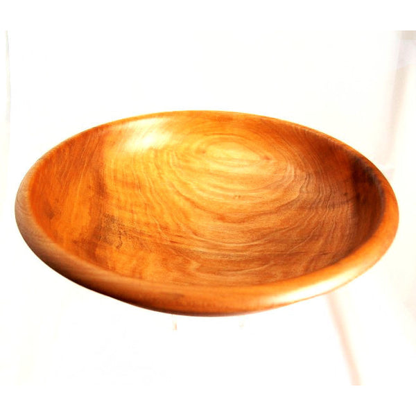 YELLOW POPLAR FRUIT BOWL - Side Street Studio