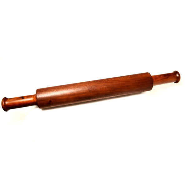 MAHOGANY & YEW WOOD ROLLING PIN - Side Street Studio