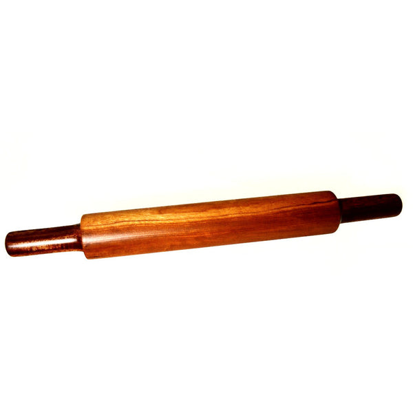 MAHOGANY WOOD ROLLING PIN - Side Street Studio