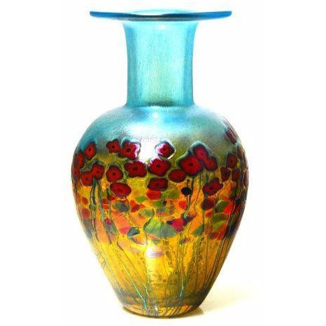 California Poppy Classic vase