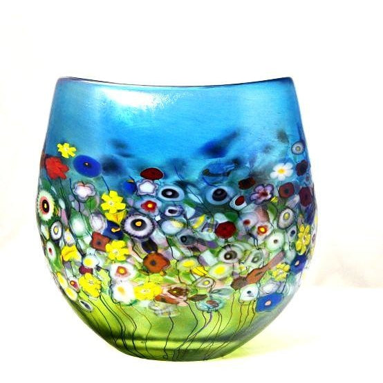 FLOWER BOUQUET CRUCIBLE VASE