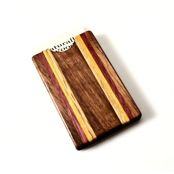 WOODEN BUSINESS CARD HOLDER - Side Street Studio