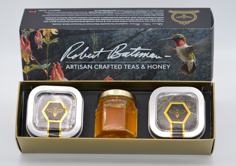 ROBERT BATEMAN Tea & Honey Gift Set