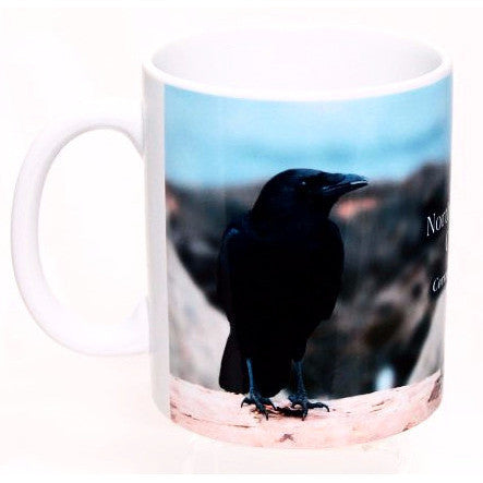 NWORTH WEST CROW PRINTED MUG - Side Street Studio