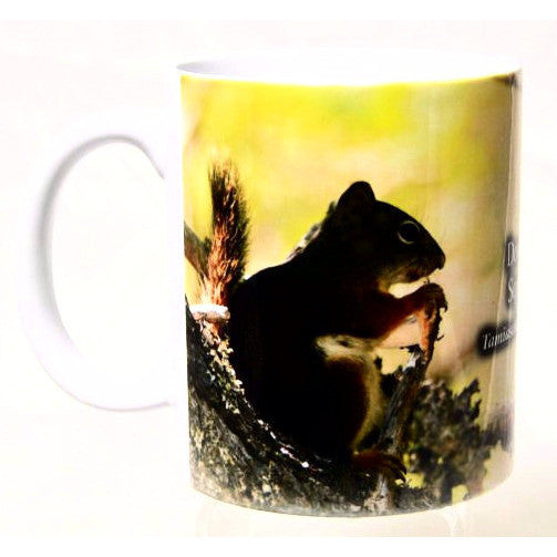 DOUGLAS SQUIRREL PRINTED MUG - Side Street Studio