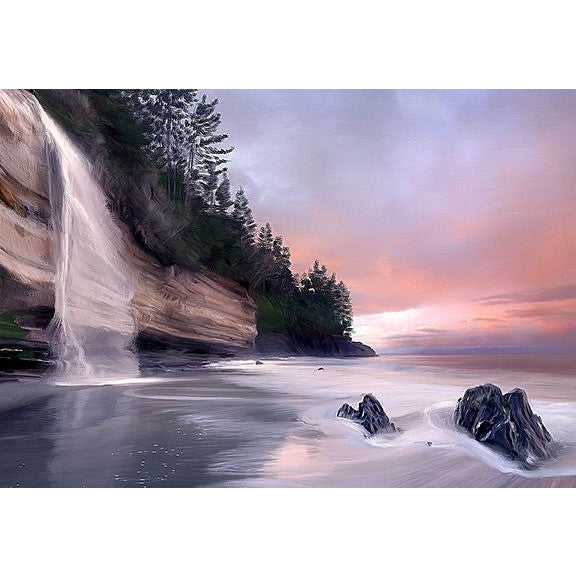 MYSTIC BEACH GICLEE - Side Street Studio