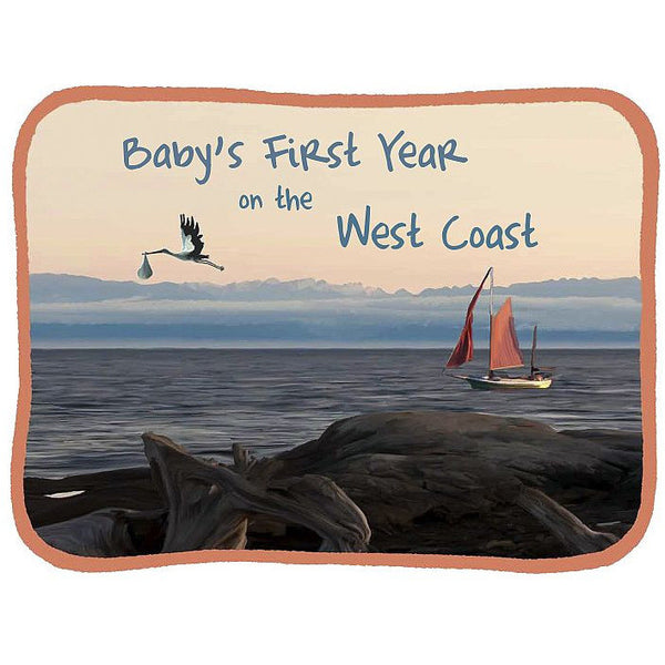BABY'S FIRST YEAR ON THE WEST COAST CALENDAR - Side Street Studio
